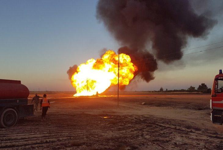 Explosión de gasoducto provoca un apagón en Siria