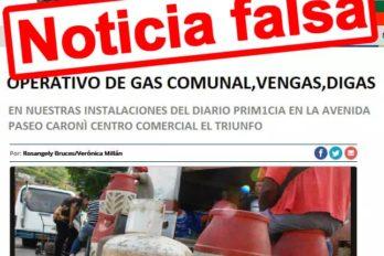 PRIMICIA desmiente operativo de gas comunal en sus instalaciones