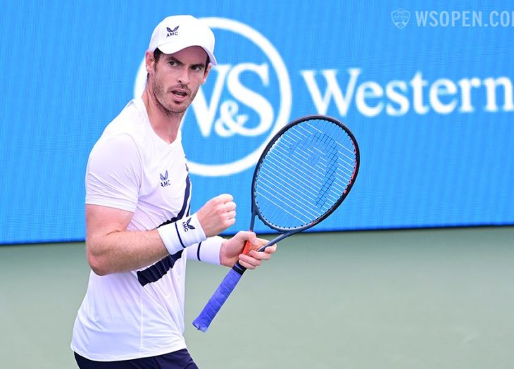 Regresa Murray con un triunfo en el Masters de Cincinnati