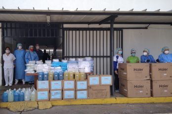 """Justo Noguera Pietri: """"Continuamos con la dotación de insumos médicos a los hospitales"""""""