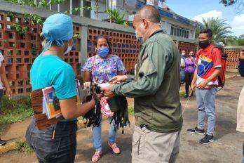 Justo Noguera supervisó funcionamiento del hospital Guaiparo