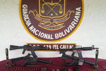 Capitán de la GNB y cinco presuntos delincuentes mueren durante enfrentamiento en El Callao