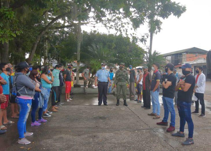 Más de 40 detenidos en operativos para contrarrestar el coronavirus