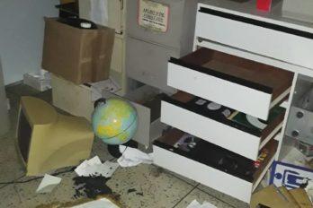 Ladrones se llevaron hasta la batea del liceo Ramón Isidro Montes