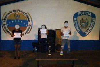Detenidas tres personas por fiesta en Campo Rojo
