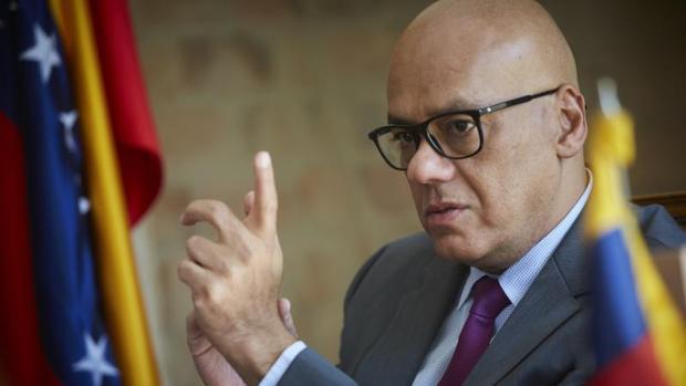 """Jorge Rodríguez pide """"el cese de las presiones externas"""" a Venezuela"""