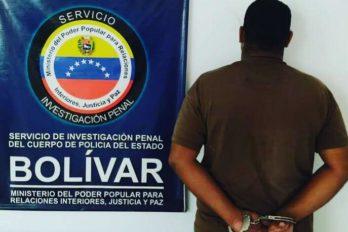 Capturado con droga en las cercanías del Fortín El Zamuro