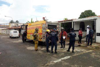 Reportaron incendio en vivienda del sector Río Aro
