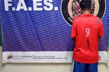 Arrestan en el Paseo Orinoco a joven requerido por tribunales