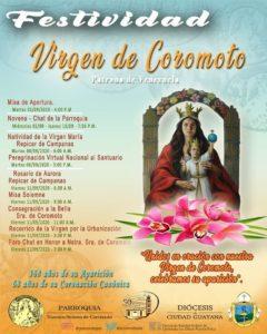 Parroquia Coromoto realizará fiestas patronales de manera virtual