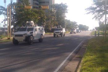 GNB realiza dispositivos de seguridad y orden público