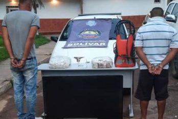 Arrestados por hurto a residencia