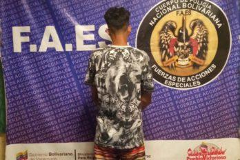 Arrestan a supuesto azote de Las Piedritas