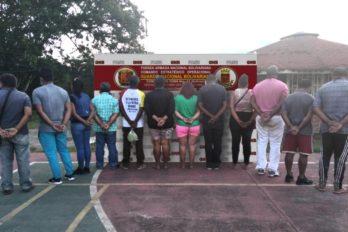 Imputan a detenidos por presunto tráfico de personas en Santa Elena