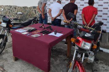 Detenidos con droga y material explosivo en Tumeremo