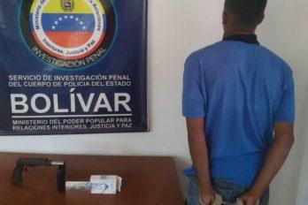 Aprehendido por robo a mano armada en Ciudad Bolívar