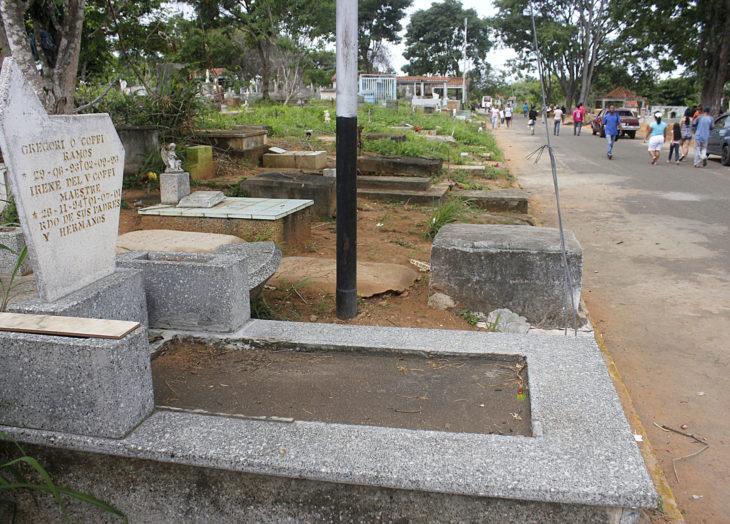 Cementerio de Chirica abrirá domingo y lunes en horario estricto