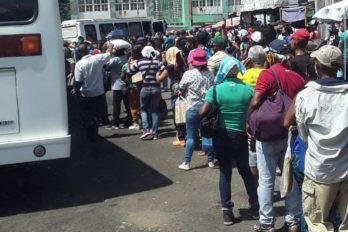 """Ciudad Guayana en """"caos"""" durante primer día de flexibilización"""