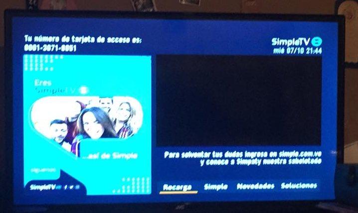 Directv en Venezuela cambia su nombre a Simple TV #5Oct