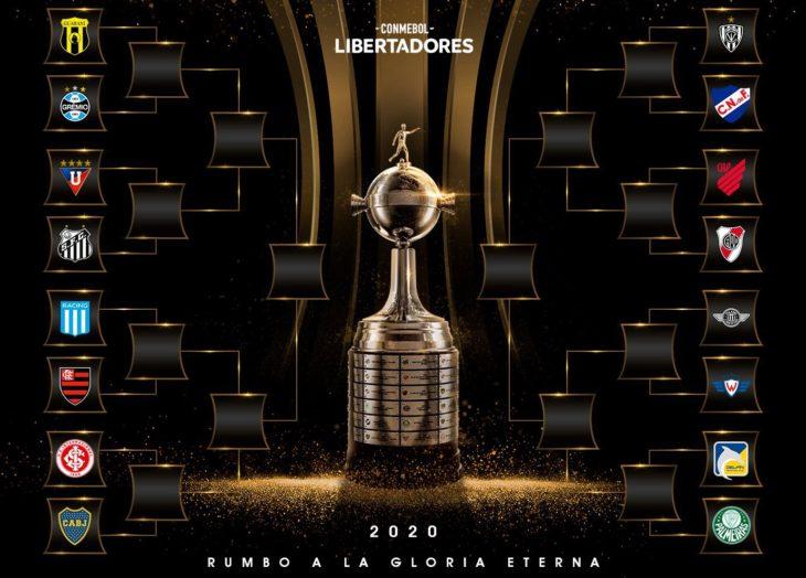 Para el infarto: así quedaron los cruces de octavos de la Copa Libertadores