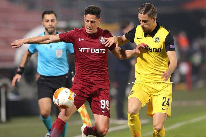 Mario Rondón marcó en el empate de Cluj en la Europa League - Diario  Primicia