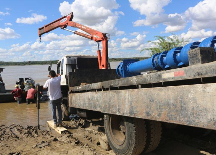 Instalado nuevo equipo de bombeo en el Acueducto Angostura de Ciudad Bolívar