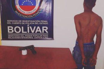 Arrestado por robo en Ciudad Bolívar