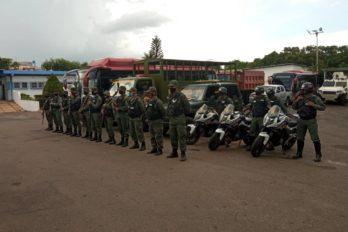 Activan operativos de seguridad en semana de cuarentena radical