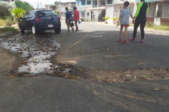 Calles de Manoa están deterioradas por tuberías rotas