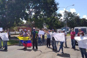 Habitantes de la Urb. Yuruaní protestaron por agua potable