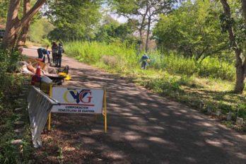 Deportistas y vecinos agradecieron limpieza de CVG en el parque Loefling