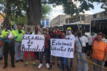 Denuncian detención arbitraria en San Félix