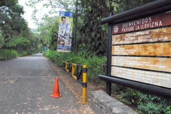 Parque la Llovizna podría abrir este 1 de diciembre
