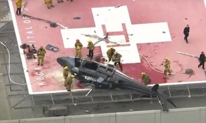 Helicóptero que llevaba corazón para trasplante se estrelló en azotea del hospital (+video) - Diario Primicia