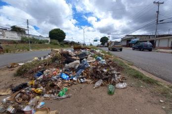 Calles repletas de basura en Caroní (+fotos)