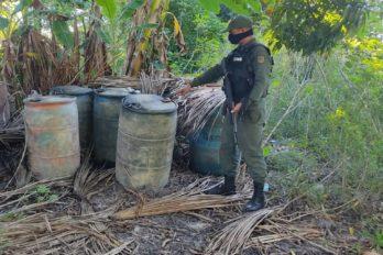Desmantelan depósito clandestino de combustible en La Paragua