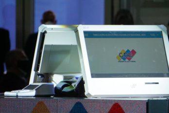 CNE Bolívar ya recibió 1.471 máquinas de votación para este 6D
