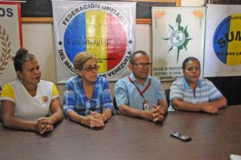 """Maestros rechazan pago del Mppe y continúan en """"desobediencia pedagógica"""""""