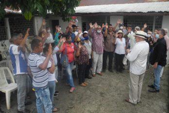 Juramentan en Piar comando de campaña para Consulta Popular
