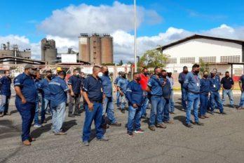 Trabajadores de Venezolana de Cementos exigen ajuste salarial