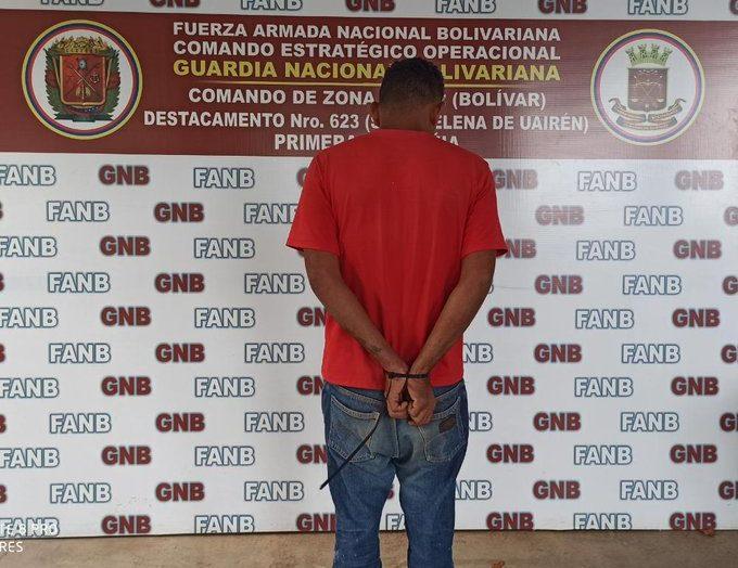 Aprehendido por violencia de género en Santa Elena de Uairén