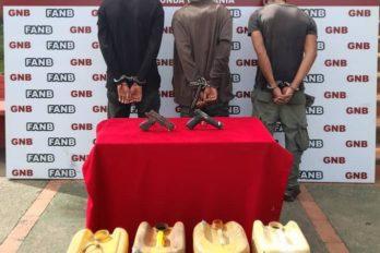 """Arrestan a tres miembros de la banda """"los Amazonios"""""""