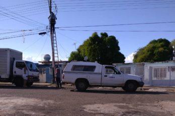 Persisten fallas de luz en zonas de Ciudad Guayana