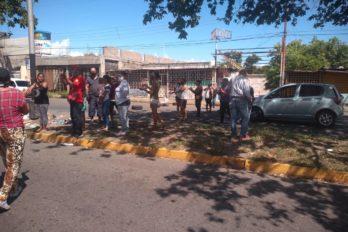 Protestaron por gas doméstico en la avenida principal de Castillito