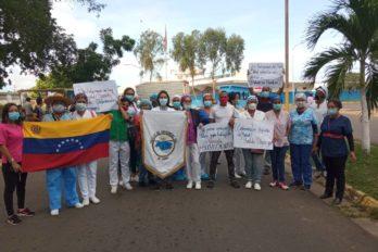 Bajos sueldos y pocos beneficios reciben enfermeros en Bolívar