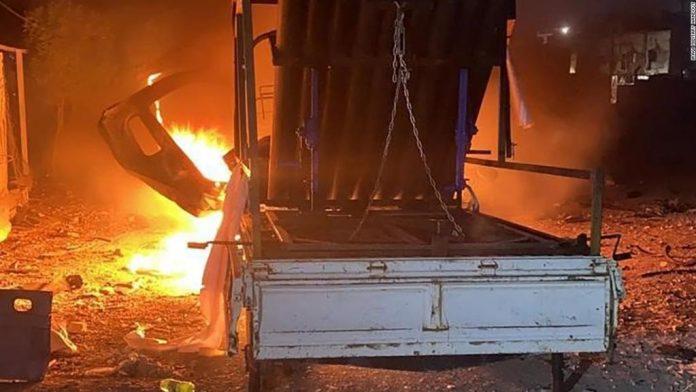 Bombardean con misiles embajada de EU en Irak