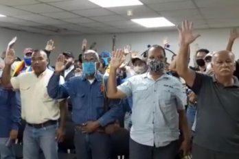 """Juramentado el """"Comando de Trabajadores de Guayana por la Consulta Popular"""""""