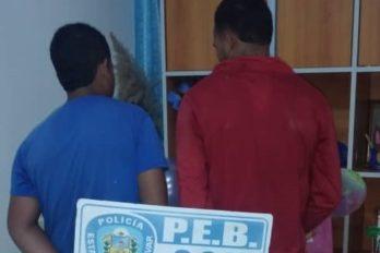 """Policía estadal atrapa a """"los Rapiditos"""" en El Rinconcito"""