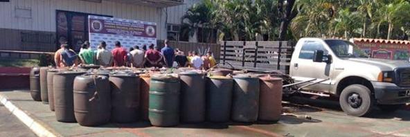 21 detenidos por hurto de combustible en planta de Pdvsa