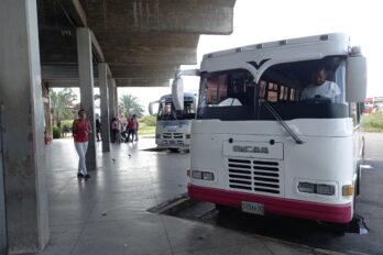 Terminal Batalla de San Félix con baja afluencia de pasajeros este 31 de diciembre